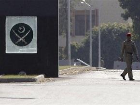 Атаковавшие Генштаб армии Пакистана боевики взяли заложников