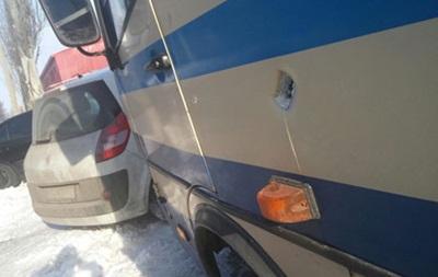 Украинские силовики обстреляли автобус спассажирами— ДНР