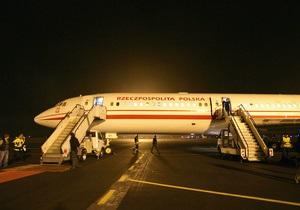 Россия отремонтировала самолет Ту-154 для правительства Польши