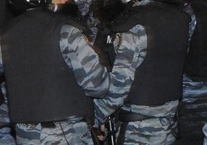 новости Киева - Крещение Руси - протесты - Милиция задержала десять человек за незаконное проведение митинга на Майдане Незалежности