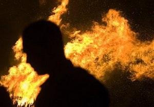В Одесской области произошел пожар на складе на площади 400 кв. м