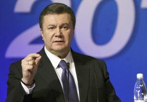 Янукович назвал кабальным газовый контракт Украины и России