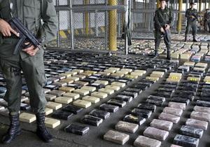 Британская полиция конфисковала рекордную партию кокаина на $421 млн