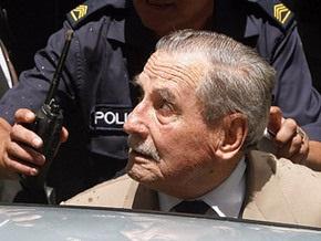 Бывший уругвайский диктатор получил 25 лет тюрьмы за убийства политических противников