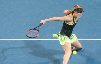 Taiwan Open: украинка Элина Свитолина разгромила россиянку Евгению отчизну