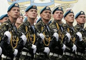 Российские десантники в День Победы пройдут по Киеву с украинским оружием