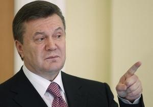 УП: Янукович поручил Пшонке проверить работу Черновецкого