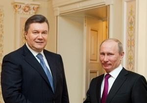 Янукович не ответил на вопрос, поедет ли он на инаугурацию Путина