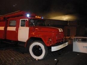 В центре Киева сегодня горело кафе