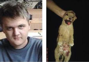 19-летнего киевлянина, убивавшего бездомных собак, приговорили к четырем годам тюрьмы