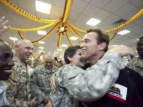 Шварценеггер посетил Ирак: Терминатор всегда исполняет свои обещания