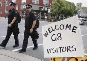 В канадском Хантсвилле открывется саммит G-8