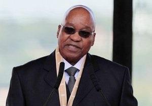 Гениталии президента на портрете возмутили власти ЮАР