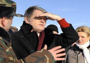 Ющенко назвал экологическую ситуацию в Калуше миной замедленного действия