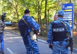 Милиция распространила данные о преступнике, которого не удалось поймать во время спецоперации в Одессе