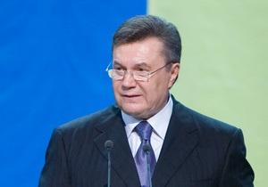 Янукович: Признание Абхазии и Южной Осетии нарушает международные нормы