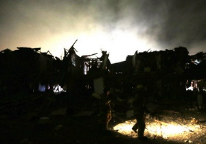 Янукович выразил соболезнования Обаме в связи с трагедией на заводе в Техасе