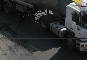 ГАИ в Киеве проверит автомобили, перевозящие опасные грузы