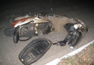 В Донецкой области столкнулся мопед и мотоцикл, три человека погибли, один травмирован