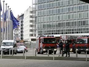 Пожар в здании Еврокомиссии потушили, пострадавших нет