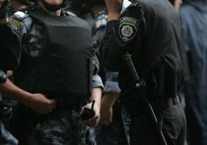 В Днепропетровске милиция задержала мужчину со взрывчаткой