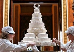 На аукцион выставят кусок торта со свадьбы Принца Уильяма и Кейт Миддлтон