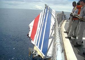 Останки пассажиров упавшего в 2009 году самолета, возможно, не будут поднимать со дна океана