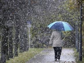 Завтра на территории Украины ожидаются дожди с мокрым снегом