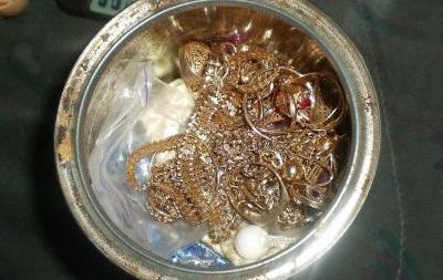 Пограничники вОдесской области обнаружили около 1,2кг золотых изделий