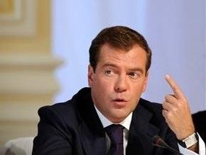Медведев: Кризис ничему не научил российский бизнес