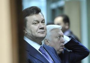 Янукович предложил генпрокурору провести проверку в Лукьяновском СИЗО