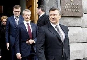 Янукович уволил начальника департамента контрразведки СБУ