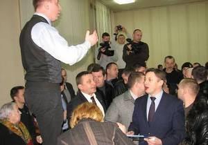 В Тернополе произошла драка между свободовцами и регионалами