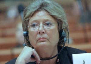 Северинсен призвала Януковича прекратить уголовное преследование оппонентов