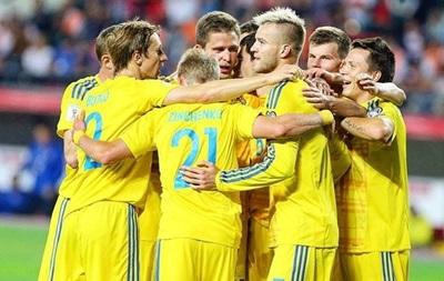 Сборная Украины проведет сбор вАвстрии перед матчем сХорватией