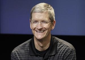 Новый глава Apple открыл долгожданную пресс-конференцию