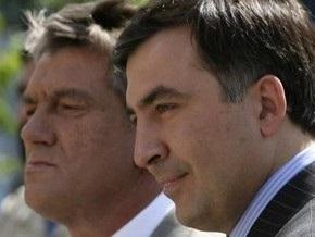 Ющенко и Саакашвили побывали на презентации фильма о Голодоморе Живые