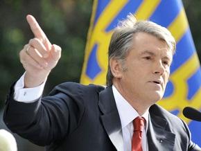 Ющенко обеспокоен всплеском преступности в Украине