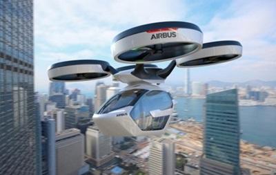 Летающий автомобиль от Airbus представили в Женеве