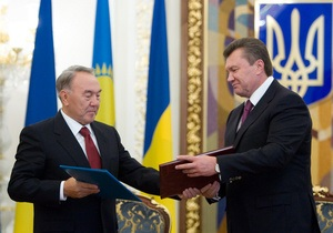 Президенты Украины и Казахстана договорились об увеличении транзита казахстанской нефти