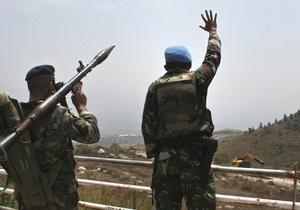 Зафиксирован обстрел Израиля с территории Ливана