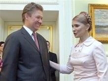 Тимошенко: Украина хочет привлечь средства на закупку газа в Deutsche Bank