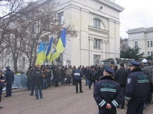 В Севастополе осквернен памятный знак украинскому флоту