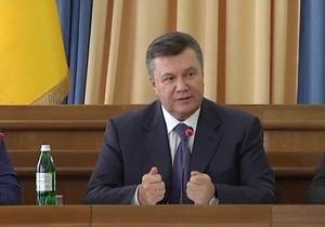 Очередная оговорка Януковича: увидишь своими руками, глазами потрогаешь