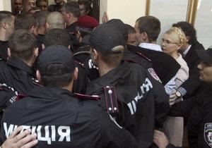 Тимошенко извинилась перед фотокором Газети по-українськи (обновлено)