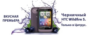 В Украине появился первый черничный смартфон