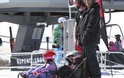 Онук Трампа зламав ногу під час катання на лижах