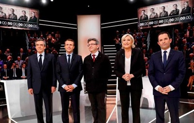 Вибори у Франції. Відбулися перші теледебати