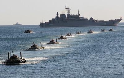 РФ відпрацьовує висадку десанту на ученнях в Криму