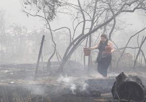 Жертвами пожаров в России стали 23 человека